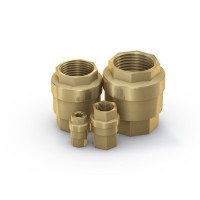 Check Valve TVR61, brass, DN 10 - 50 mm, 0 - 700 psi - Series