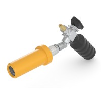 WEH® Fueling Nozzle TK10 CNG for fast filling of cars (NGV1),  grip position 45°, 3600 psi