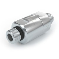 """WEH® Filter TSF1 CNG for fueling stations as prefilter, male thread on both sides, UNF 9/16""""-18, 40 micron, 3,600 psi"""