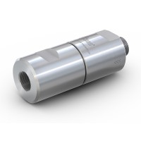 """WEH® Filter TSF4 H₂ for installation in H2 fueling stations, with male and female thread G1/2"""", Filter 40 Micron, 5,000 psi"""