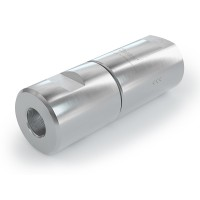 """WEH® Filter TSF4 CNG for CNG vehicles (ECE), female thread on both sides, NPT 1/2"""", 40 micron, 3,000 psi"""