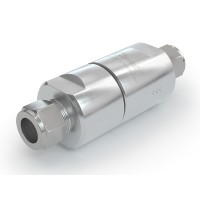 WEH® Filter TSF4 CNG for CNG fuelling stations,  tube Ø 10 on both sides, 40 micron, 3,000 psi