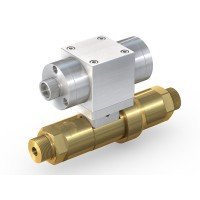 WEH® Shut-off Valve TV17GO for inert gases, pneumatical actuation, DN12, NO, 420 bar