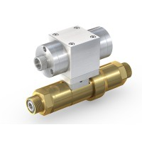 WEH® Shut-off Valve TV17GR for inert gases, pneumatical actuation, with check valve, DN12, NC, 420 bar
