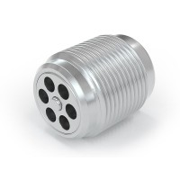 """WEH® Screw-in Valve TVR400-S1-A20, G3/8"""" male thread, stainless steel, DN 7 mm, 3,500 psi"""