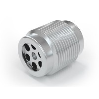 WEH® Screw-in Valve TVR400-S1-A20, M14x1.5 male thread, stainless steel, DN 6 mm, 3,500 psi