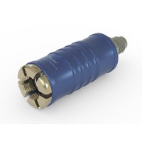 TW111 Service connector for low pressure with inline media inlet