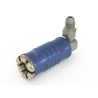 TW111 Service quick coupler for low pressure with 90° media inlet