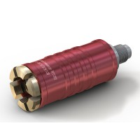TW111 Service quick coupling for high pressure with inline media inlet