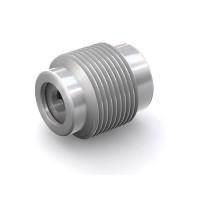 "WEH® Screw-in Valve TVR2, NPT 1/4"" external thread, stainless steel, FKM, DN 4 mm, 170 bar"