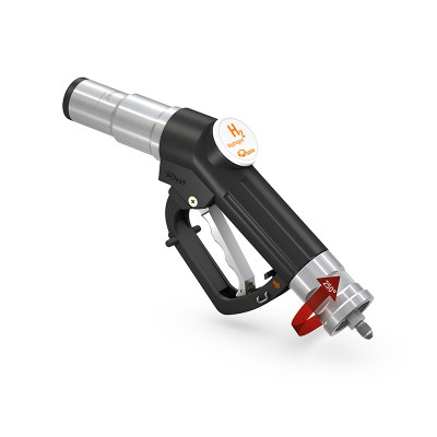 WEH® Fueling Nozzle TK17 H₂ 35 MPa for fast filling cars, single-handed operation, self-service