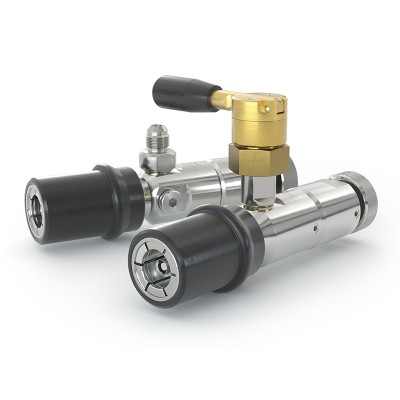 WEH® Defueling Nozzle TK6 CNG for discharging of cars through the filling receptacle - Product family