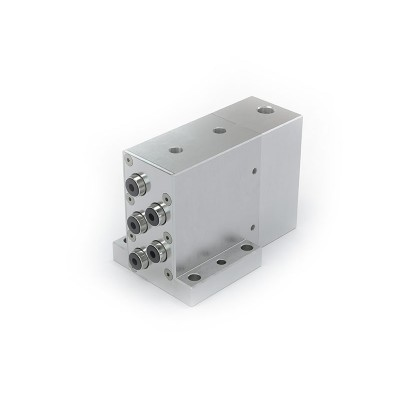 TW130 Multiple connector for testing of components with banjo tube connections and hose / tube connections