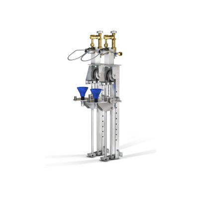 WEH® Filling Rig TS150 linear filling rig for BA cylinders