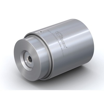 WEH® Connector TW02 for straight tubes, tube OD 0.80 - 1.30 mm, pneumatical actuation, vacuum up to max. 510 psi