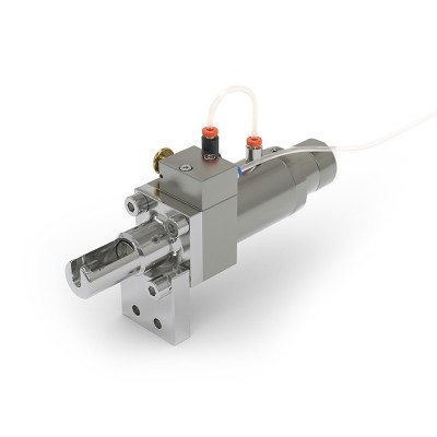 WEH® Connector TW130 for testing of components with banjo tube connections and hose / tube connections, pneumatical actuation, max. 5,000 psi