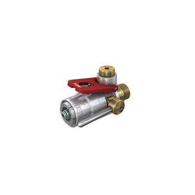 CLICKMATE® TW157 Breathing air connector for filling of cylinders with male thread