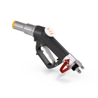 WEH® Fuelling Nozzle TK17 CNG for cars (NGV1), single-handed operation, twin hose system, 3,600 psi
