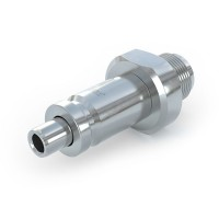 WEH® Quick release nipple TN350 for connector changeover, sliding sleeve actuation, max. 5,440 psi